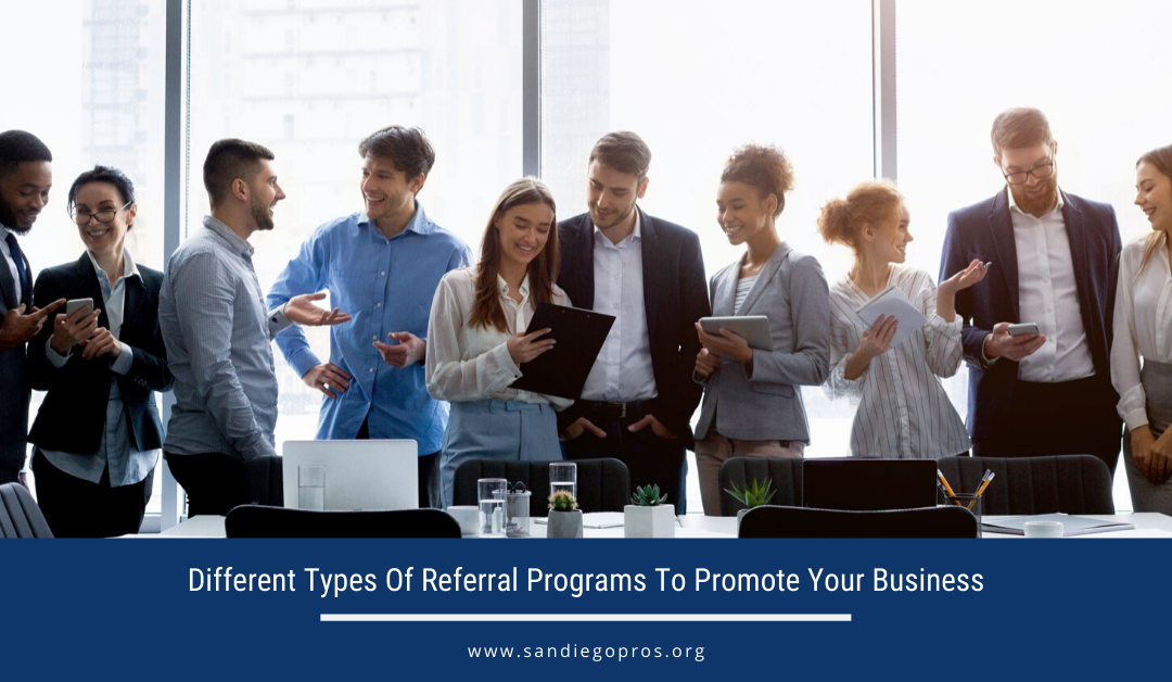 Different Types Of Referral Programs To Promote Your Business